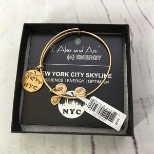 Alex and Ani New York City Skyline Bangle Bracelet